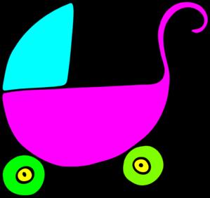 299x282 Baby Stroller Clip Art