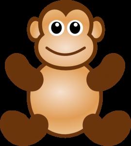 270x300 Stuffed Animal Clipart monkey toy clip art