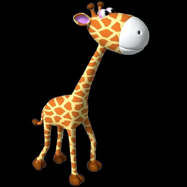 600x600 65 Free Giraffe Clip Art