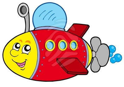 400x280 Clip Art Cartoon Submarine Clipart Panda