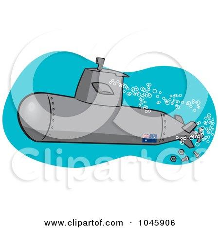 450x470 Royalty Free (Rf) Clip Art Illustration Of A Cartoon Submerged