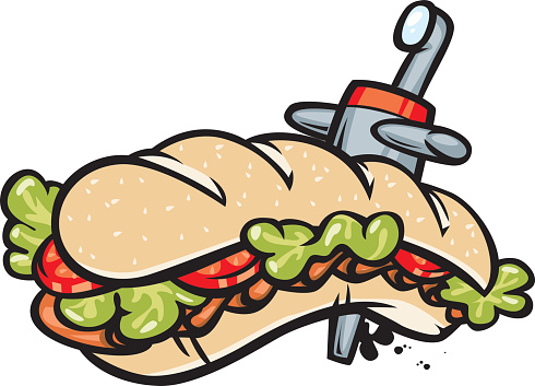 490x353 Collection Of Sub Sandwich Clipart High Quality, Free