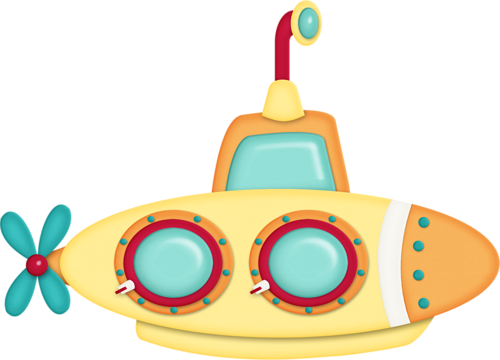 500x360 Submarine Tub Toy Clip Art Clip Art And Album