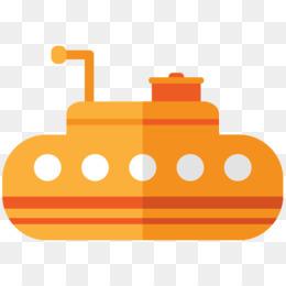 260x260 Yellow Submarine Clip Art