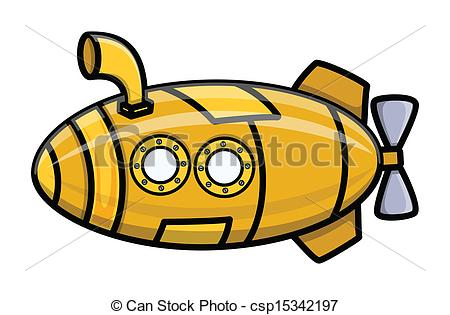450x315 Cartoon Vector Submarine. Drawing Art Of Cartoon Old Vintage