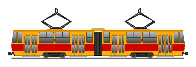 640x219 Subway Clipart Tram