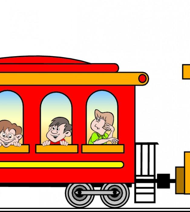 628x698 Train Junction Clipart