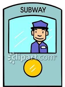 225x300 A Subway Conductor On A Subway Train