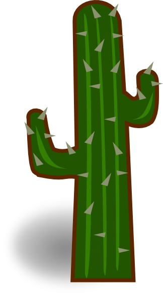 324x589 Cactus Clip Art