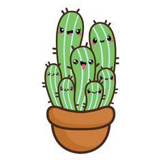 236x244 Kawaii Clip Art, Valentine Clipart, Kawaii Cactus Clipart, Kawaii