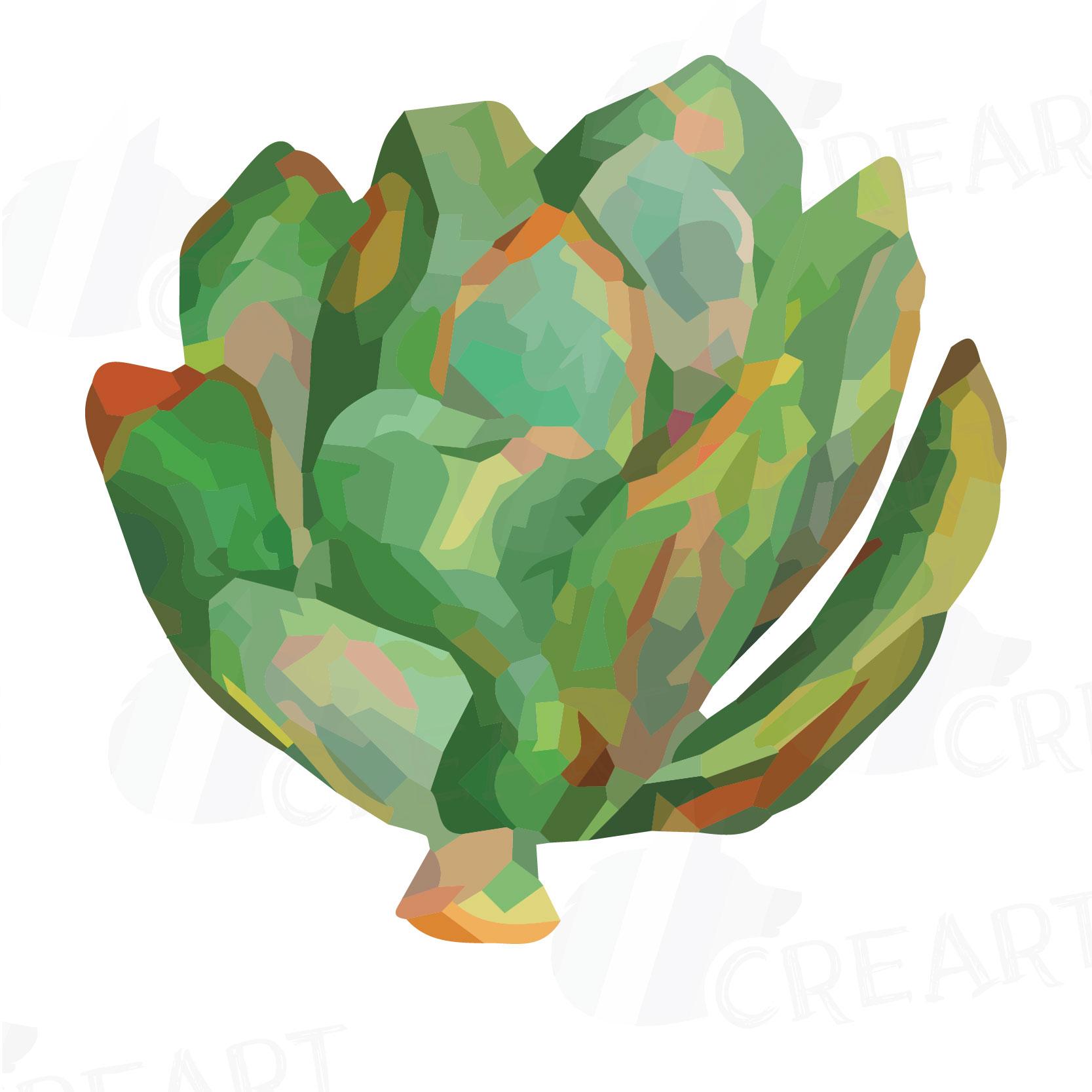 1667x1667 Watercolor Succulent Clip Art Pack, Gre Design Bundles