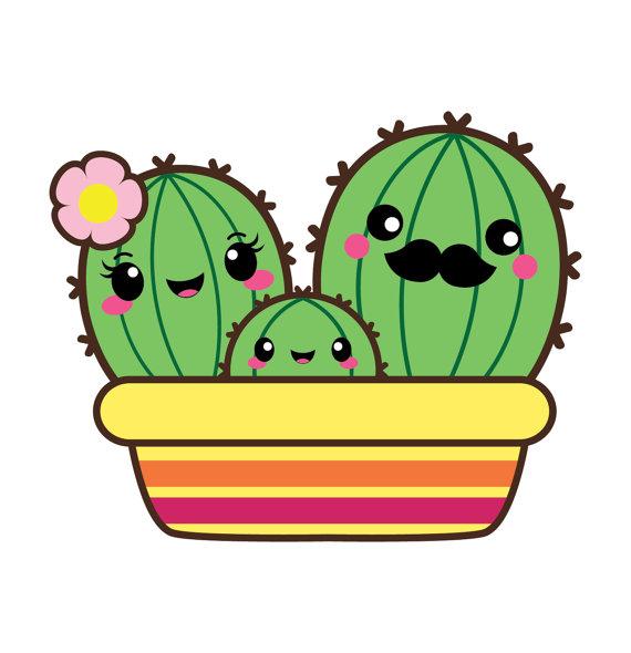 570x590 Cactus Clipart Kawaii Clip Art Valentine Clipart Kawaii Cactus