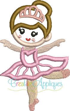 235x372 Sugar Plum Fairy Applique