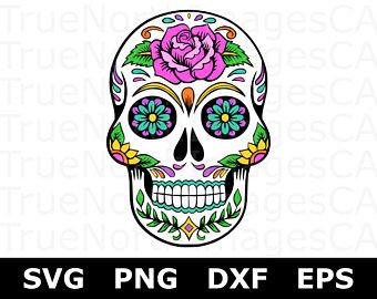 340x270 Skull Clipart Day Of The Dead Png Skull Clip Art Sugar