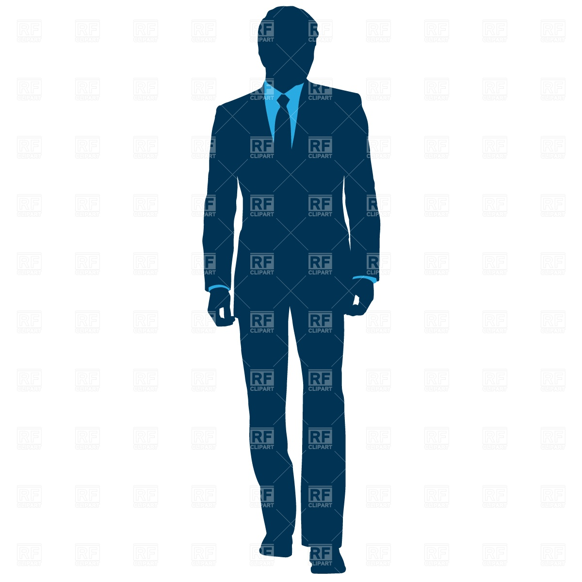 1200x1200 Businessman In Suit Royalty Free Vector Clip Art Image