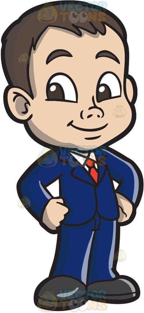 471x1024 Clipart Boy In Suit Businessman Image Cliprt Illustration