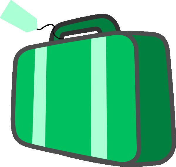 600x567 Suitcase Clip Art