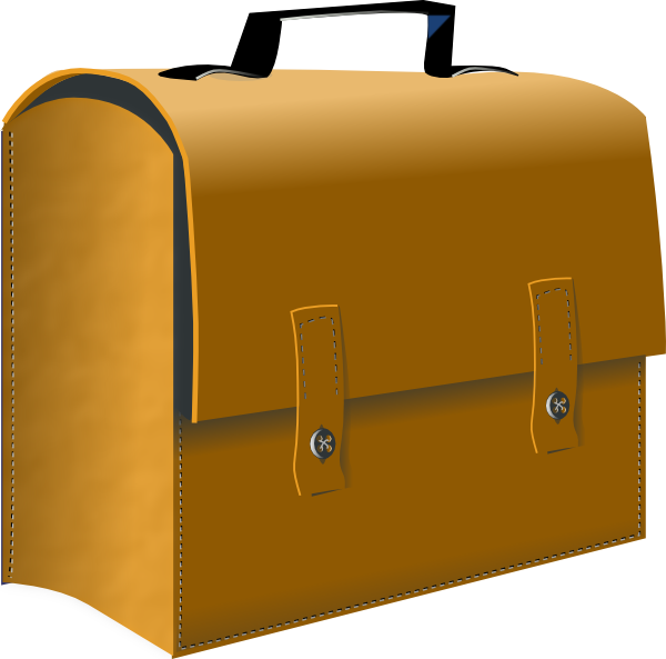 600x593 Business Suitcase Clipart