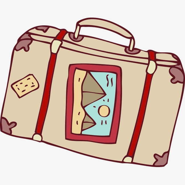 650x650 Cartoon Suitcase, Cartoon, Suitcase Png Image And Clipart For Free