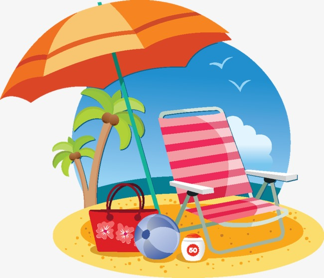 Summer Beach Clipart at GetDrawings | Free download
