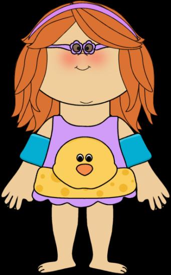 341x550 Swimmer Girl. Clip Art Summer Clip Art, Girls