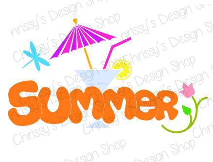 438x333 Summer Fun Svg File Summer Svg File Summer Silhouette