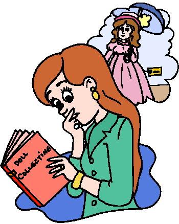 350x438 Reading Clip Art Activities