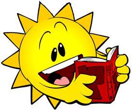 277x232 Summer Reading Clipart