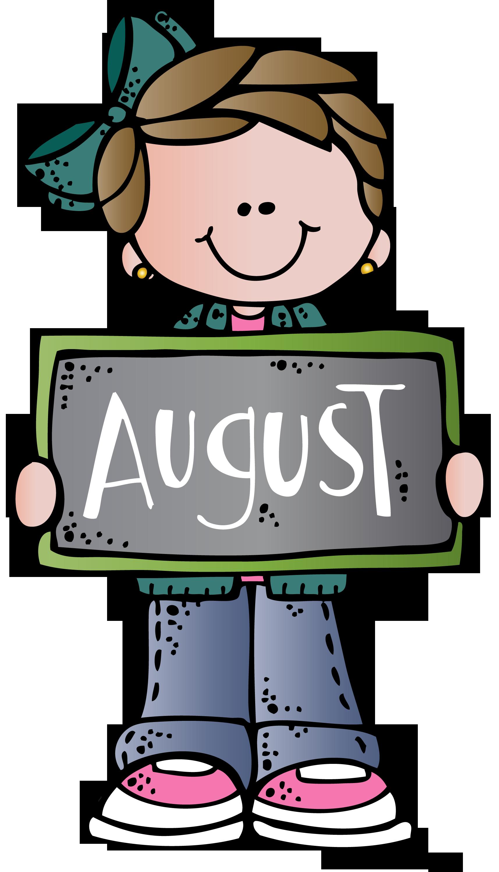 1715x3000 August Mel Melonheadz Clip Art, School And Teacher