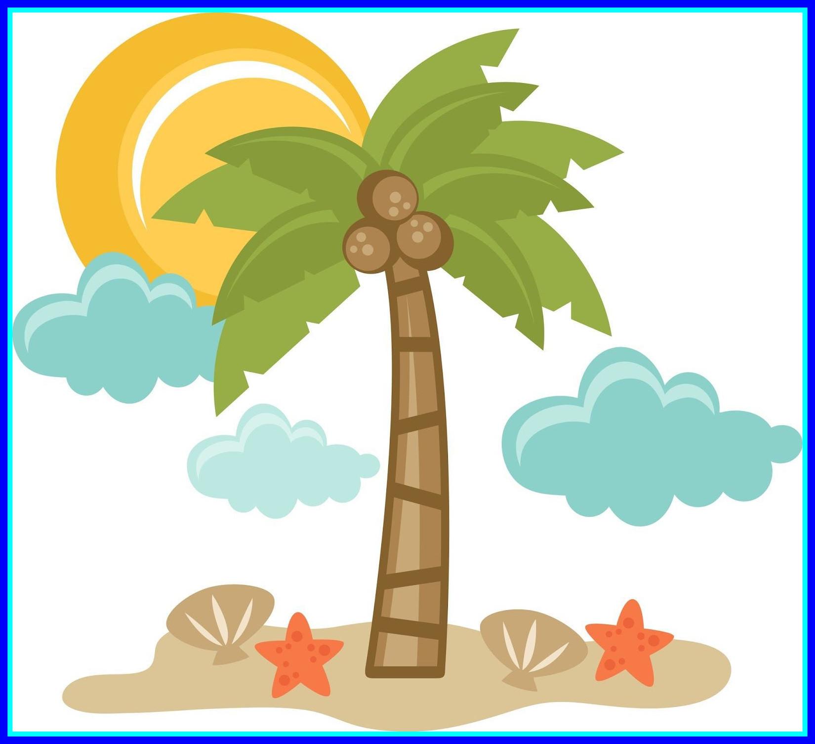 1650x1506 Appealing Tropical Summer Clip Art Clipart Image For Piggy Back