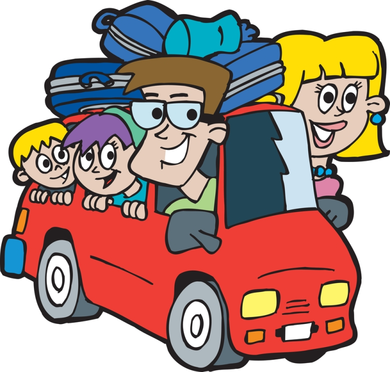 780x744 Bus Clipart Vacation