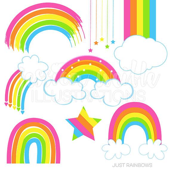 570x570 Fantastic Rainbow Clipart Clip Art Panda Free Images Black