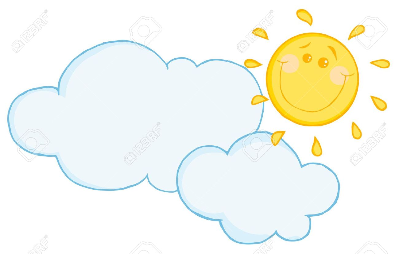 1300x828 Sun And Clouds Clipart Free Download Clip Art