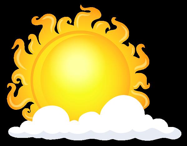 600x468 Sun With Cloud Transparent Picture Imagenes Png