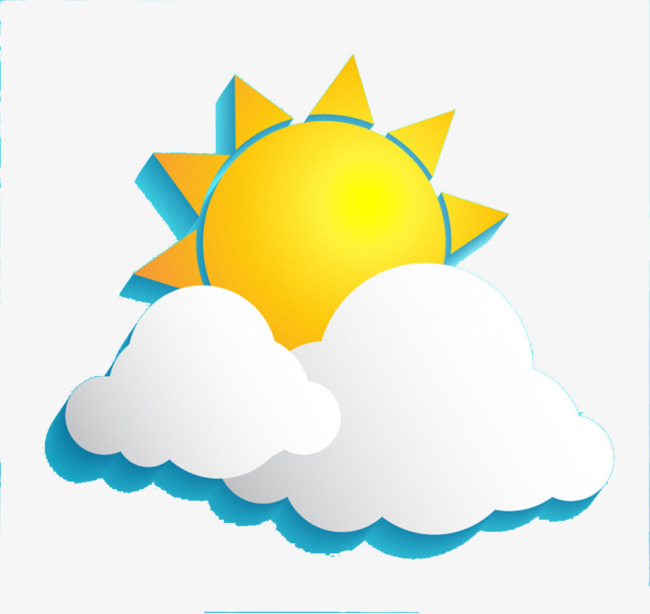 650x614 Sunny Weather, Sunlight, Sun, Clouds Png Image And Clipart