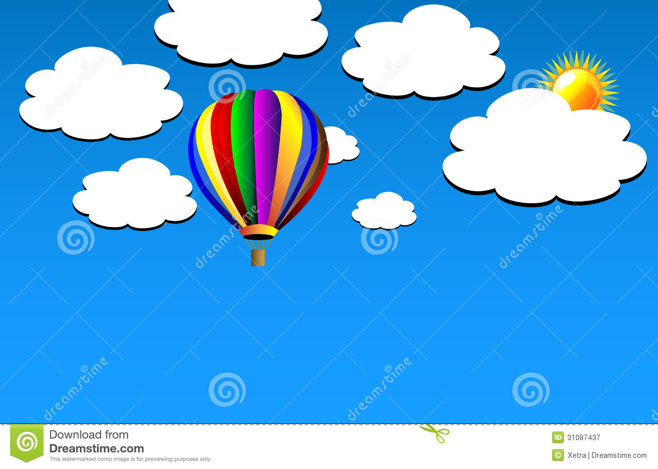 1300x928 Balloon Clipart Panda