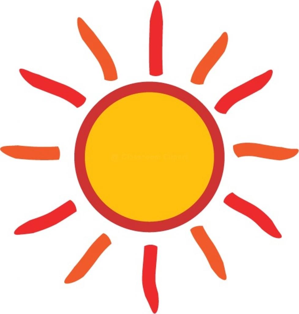 977x1024 Free Clip Art Transparent Background Sun Clipart No Background