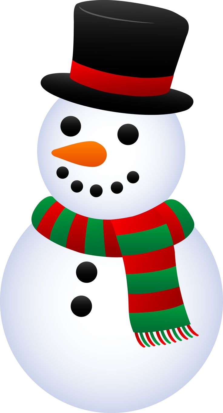 736x1360 Project Ideas Snowmen Clipart Smiling Clip Art Isolated Stock