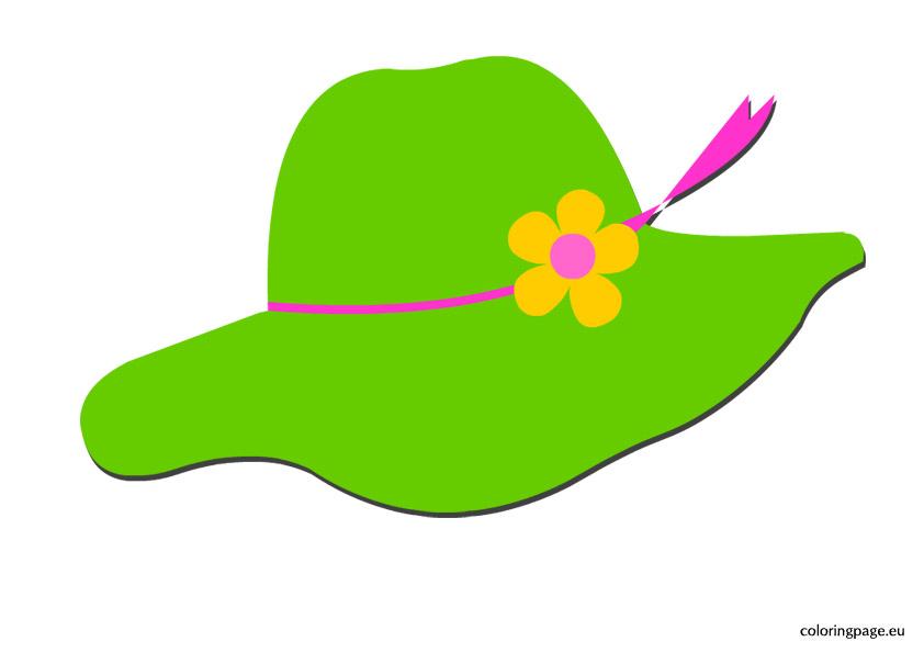 842x595 Sun Hat Clipart