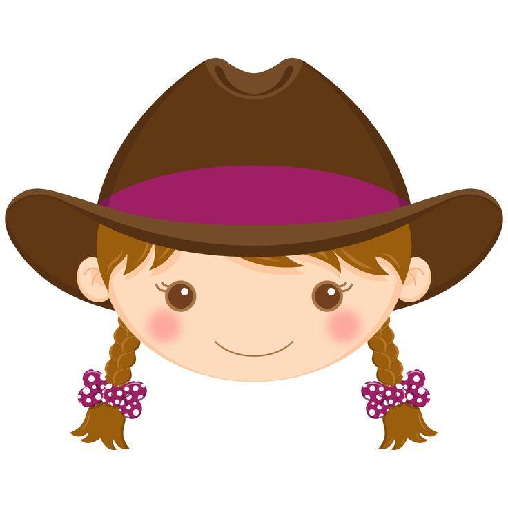736x736 Brown Hair Cowgirl Lady Cute