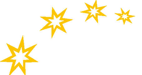 455x239 Moon And Stars Border Clipart