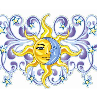 400x400 289 Best Clip Art~sun, Moon, Stars, Clouds Amp Printables Images