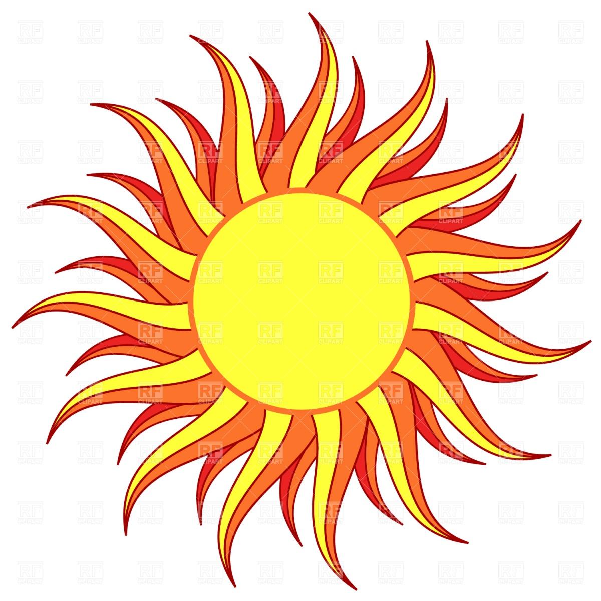 1200x1200 Sun Royalty Free Vector Clip Art Image