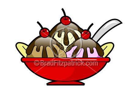 432x324 Hot Fudge Sundae Clip Art Hot Fudge Sundae Graphics Clipart