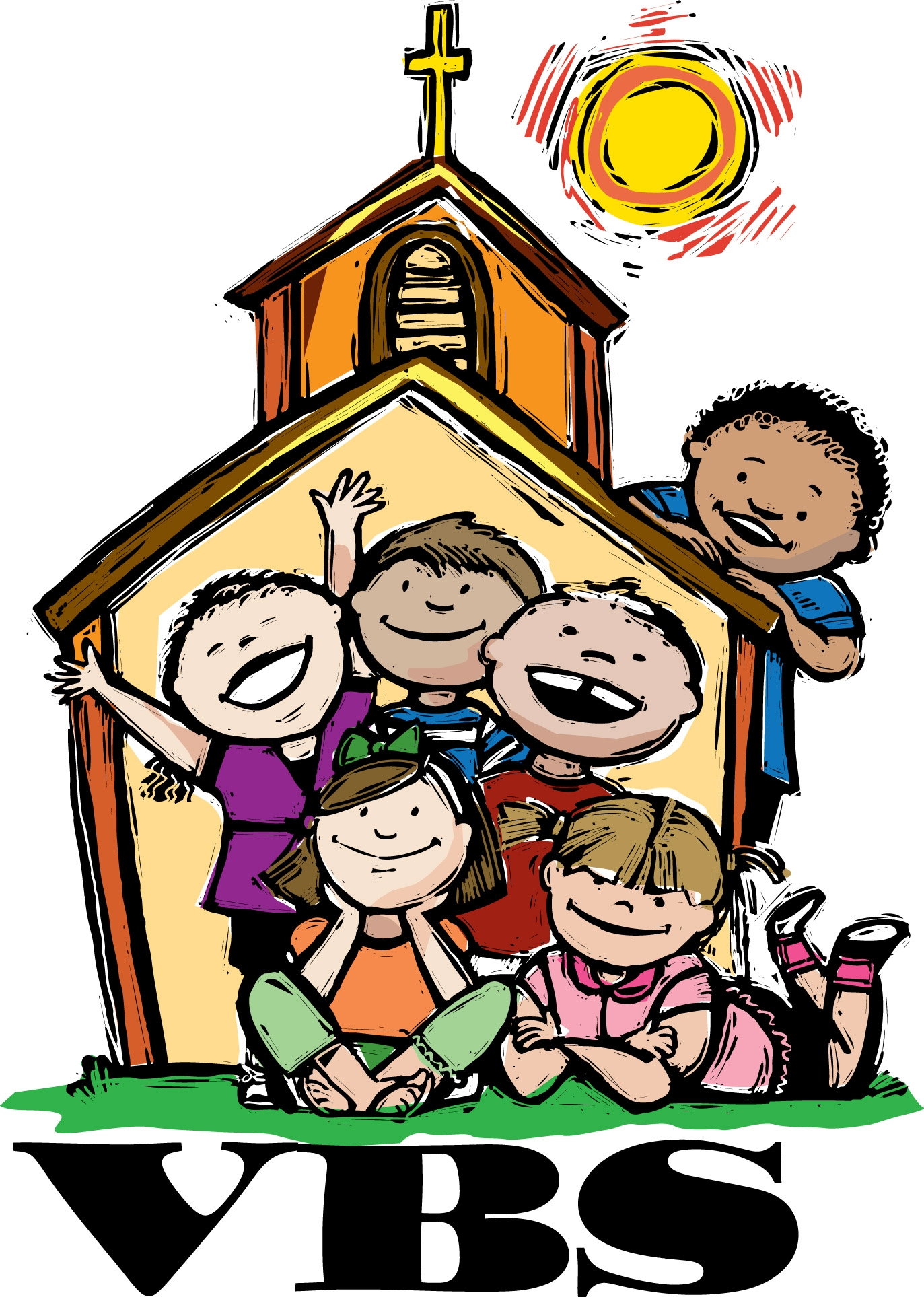 1373x1927 Clipart Sunday School