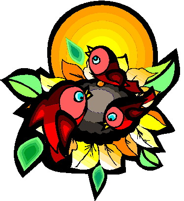 374x410 Sunflower Clip Art Flowers And Plants