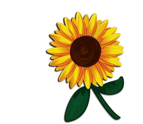 sunflower clipart at getdrawings com free for personal use rh getdrawings com sunflower clip art free sunflower clip art pictures