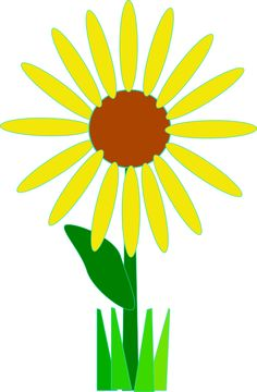 236x360 Free Sunflower Clipart