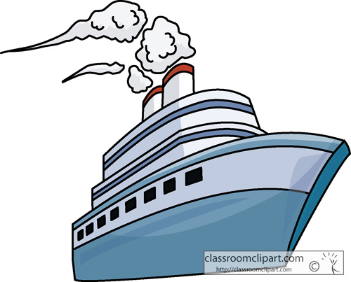 500x403 Small Ship In Background Clipart