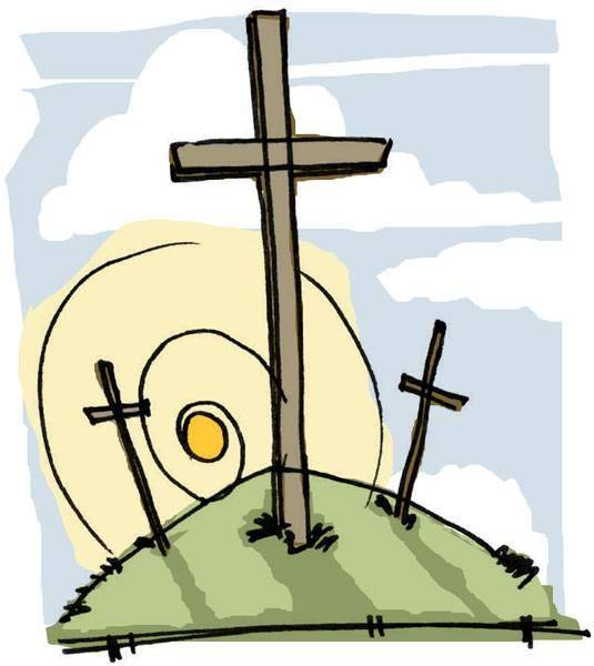535x600 Easter Cross Clipart Images